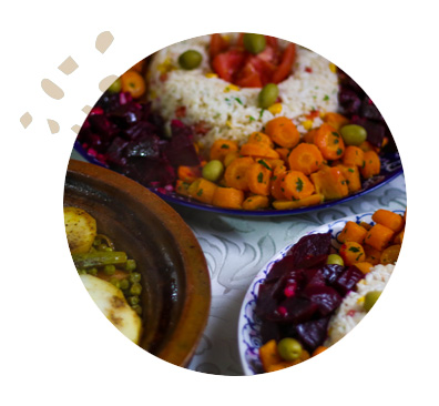 Morocco Womens Surfing Food