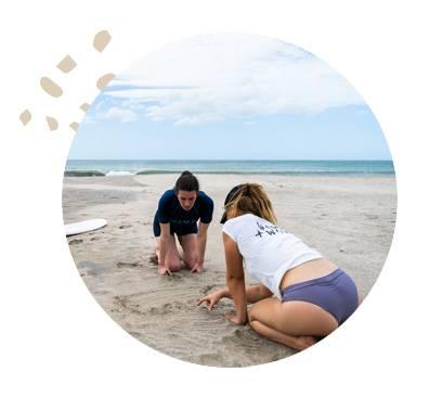 Nicaragua Womens Surfing Coaching