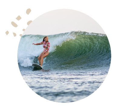 Nicaragua Womens Surfing Waves