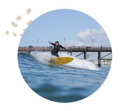 California Women Surfing Our Aim