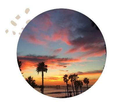 California Women Surfing Waves