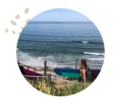 California Women Surfing Coaching