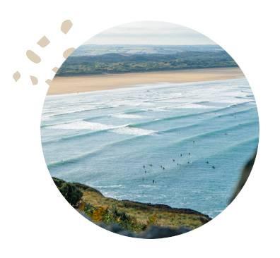 Devon Surf Camp Waves