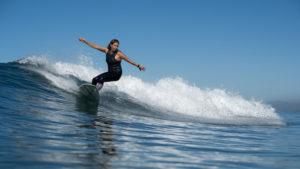 California Women Surfing